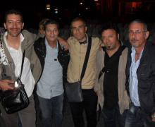 Faber Quartet e il nostro amico Pier Michelatti (bassista di De André)